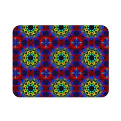 Abstract Pattern Wallpaper Double Sided Flano Blanket (Mini)