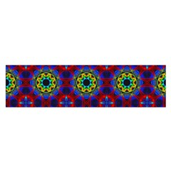 Abstract Pattern Wallpaper Satin Scarf (Oblong)