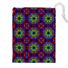 Abstract Pattern Wallpaper Drawstring Pouches (xxl)