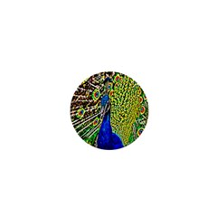 Graphic Painting Of A Peacock 1  Mini Magnets