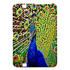 Graphic Painting Of A Peacock Kindle Fire HD 8.9