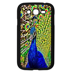 Graphic Painting Of A Peacock Samsung Galaxy Grand DUOS I9082 Case (Black)