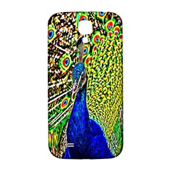 Graphic Painting Of A Peacock Samsung Galaxy S4 I9500/i9505  Hardshell Back Case