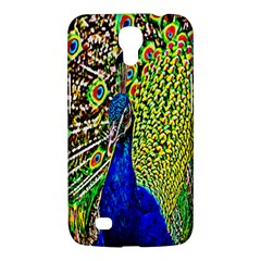 Graphic Painting Of A Peacock Samsung Galaxy Mega 6.3  I9200 Hardshell Case