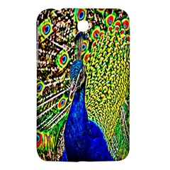 Graphic Painting Of A Peacock Samsung Galaxy Tab 3 (7 ) P3200 Hardshell Case
