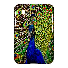 Graphic Painting Of A Peacock Samsung Galaxy Tab 2 (7 ) P3100 Hardshell Case