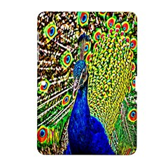 Graphic Painting Of A Peacock Samsung Galaxy Tab 2 (10.1 ) P5100 Hardshell Case