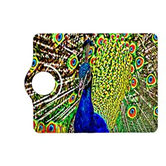 Graphic Painting Of A Peacock Kindle Fire HD (2013) Flip 360 Case