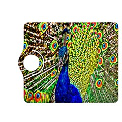 Graphic Painting Of A Peacock Kindle Fire HDX 8.9  Flip 360 Case