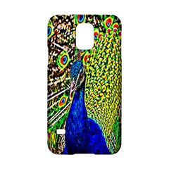 Graphic Painting Of A Peacock Samsung Galaxy S5 Hardshell Case