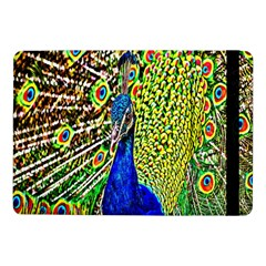 Graphic Painting Of A Peacock Samsung Galaxy Tab Pro 10.1  Flip Case