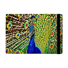 Graphic Painting Of A Peacock iPad Mini 2 Flip Cases