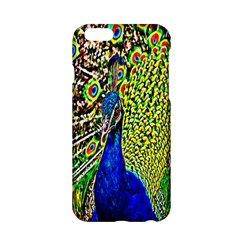 Graphic Painting Of A Peacock Apple iPhone 6/6S Hardshell Case