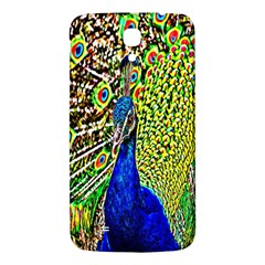 Graphic Painting Of A Peacock Samsung Galaxy Mega I9200 Hardshell Back Case