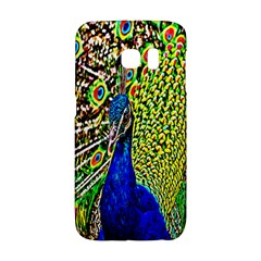 Graphic Painting Of A Peacock Galaxy S6 Edge