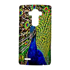 Graphic Painting Of A Peacock Lg G4 Hardshell Case