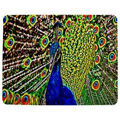 Graphic Painting Of A Peacock Jigsaw Puzzle Photo Stand (Rectangular)