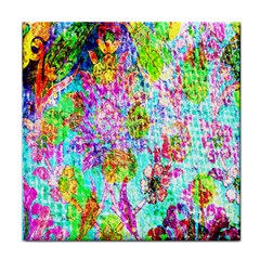 Bright Rainbow Background Tile Coasters