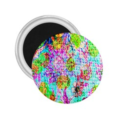 Bright Rainbow Background 2.25  Magnets