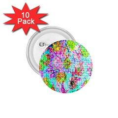 Bright Rainbow Background 1.75  Buttons (10 pack)