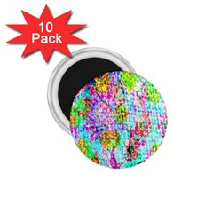 Bright Rainbow Background 1 75  Magnets (10 Pack)