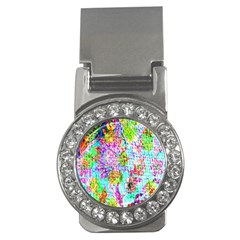 Bright Rainbow Background Money Clips (cz)