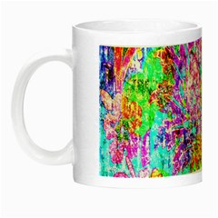 Bright Rainbow Background Night Luminous Mugs