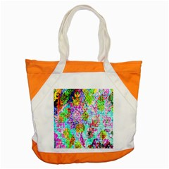 Bright Rainbow Background Accent Tote Bag