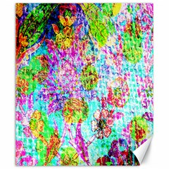 Bright Rainbow Background Canvas 20  x 24