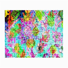 Bright Rainbow Background Small Glasses Cloth (2-Side)