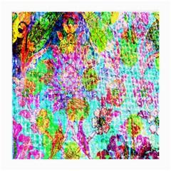 Bright Rainbow Background Medium Glasses Cloth (2 Side)