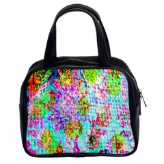 Bright Rainbow Background Classic Handbags (2 Sides)