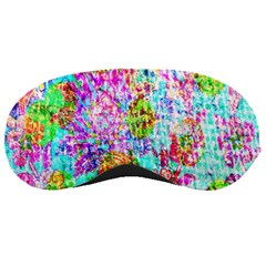 Bright Rainbow Background Sleeping Masks