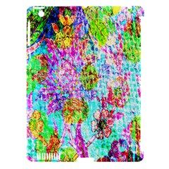 Bright Rainbow Background Apple iPad 3/4 Hardshell Case (Compatible with Smart Cover)