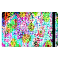 Bright Rainbow Background Apple iPad 2 Flip Case