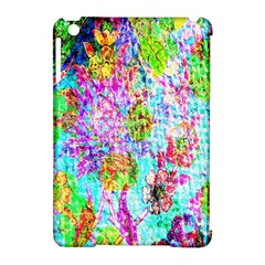 Bright Rainbow Background Apple iPad Mini Hardshell Case (Compatible with Smart Cover)