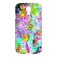 Bright Rainbow Background Samsung Galaxy S4 I9500/i9505 Hardshell Case