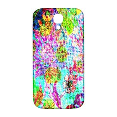 Bright Rainbow Background Samsung Galaxy S4 I9500/I9505  Hardshell Back Case