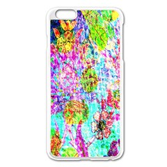 Bright Rainbow Background Apple iPhone 6 Plus/6S Plus Enamel White Case