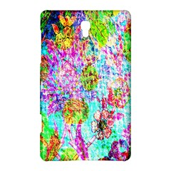 Bright Rainbow Background Samsung Galaxy Tab S (8.4 ) Hardshell Case