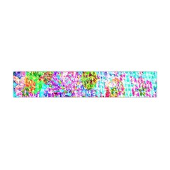 Bright Rainbow Background Flano Scarf (Mini)