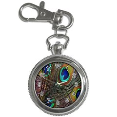 Peacock Feathers Key Chain Watches