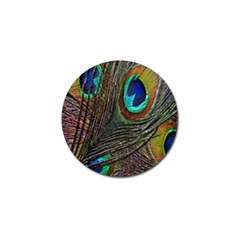 Peacock Feathers Golf Ball Marker (10 pack)