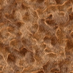 Brown Seamless Animal Fur Pattern Canvas 16  X 16
