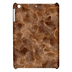 Brown Seamless Animal Fur Pattern Apple iPad Mini Hardshell Case