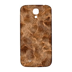 Brown Seamless Animal Fur Pattern Samsung Galaxy S4 I9500/i9505  Hardshell Back Case