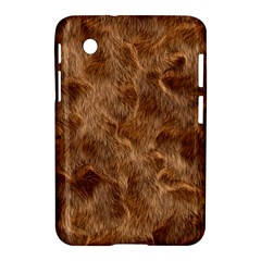 Brown Seamless Animal Fur Pattern Samsung Galaxy Tab 2 (7 ) P3100 Hardshell Case