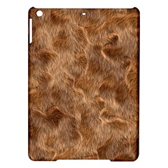 Brown Seamless Animal Fur Pattern iPad Air Hardshell Cases