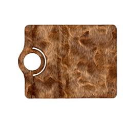 Brown Seamless Animal Fur Pattern Kindle Fire HD (2013) Flip 360 Case