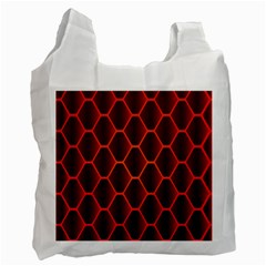 Snake Abstract Pattern Recycle Bag (two Side)